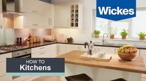 wickes kitchen cabinets how to fit a kitchen sink with wickes youtube