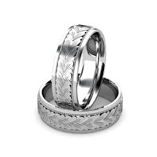 carved wedding band platinum men s carved wedding band union diamond