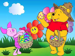winnie the pooh easter basket disney easter piglet and winnie the pooh wallpaper puzzles