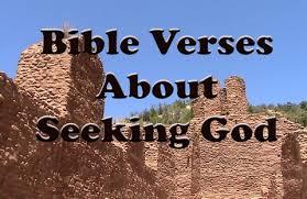 Seeking About 10 Bible Verses About Seeking God