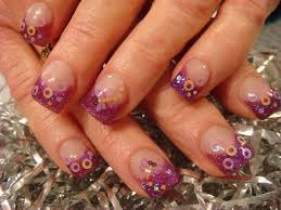 purple acrylic nail designs nail designs hair styles tattoos
