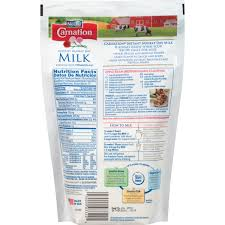 carnation instant nonfat dry milk 9 6 oz bag walmart com