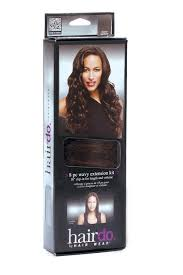18 inch hair extensions hair extensions 18 inch wavy extension 8pc kit by hairdo