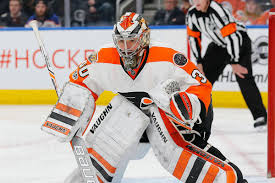 the flyers are starting their backup goalie in the biggest game of