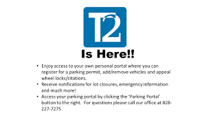 western carolina university parking and transportation