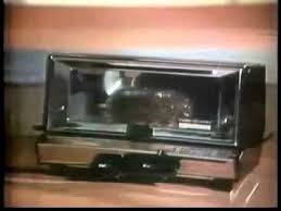 Toast In Toaster Oven Vintage 1966 General Electric Toaster Oven Commercial Toast R Oven