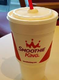 Mango King mango smoothies are right now at smoothie king