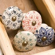 painted ceramic cabinet knobs shabby chic hand painted ceramic knobs at rs 40 piece ceramic