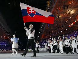 Slovak Flag Photo Zdeno Chara Carries Slovakian Flag At Opening Ceremony