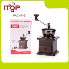 Cast Iron Coffee Grinder Compare Prices On Wood Coffee Grinder Online Shopping Buy Low