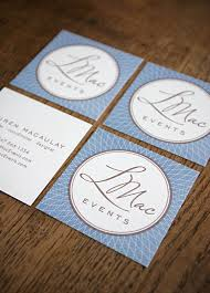 Event Business Cards L Mac Events Identity And Business Cards Dauphine