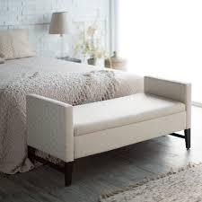 amazon com belham living camille upholstered backless storage