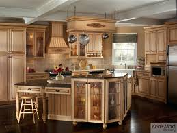 kraftmaid kitchen island this traditional kitchen with kraftmaid cabinetry and a multi
