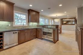 travertine tile kitchen floor interior design ideas luxury with