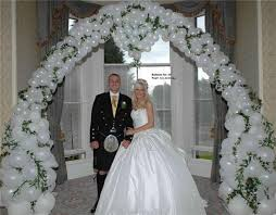 Wedding Decorations For Church Balloons For Weddings Gretna Weddings Decor For Churches And