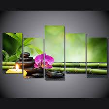 bambou feng shui achetez en gros bambou peinture sur toile en ligne à des