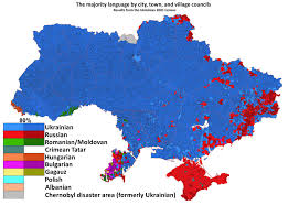 map in language ukraine in my linguistic maps