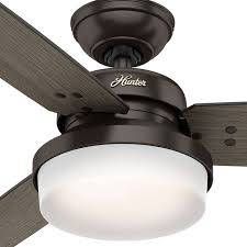 hunter 54 coral gables indoor outdoor fan hunter 52 ceiling fan fans in adirondack bronze contempo review