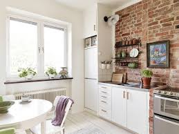kitchen style shabby white wooden kitchen cabinet connected to shabby white wooden kitchen cabinet connected to mocha brick charming white brick backsplash