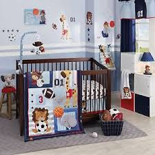 Infant Crib Bedding Lambs Future All 6 Baby Crib Bedding Set W