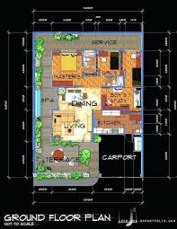 floor plan two storey 5 bedroom house plans single story luxury bungalow architecture