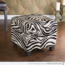 Print Ottoman Zebra Ottoman Currently One Of My Favorite Handcrafted Hardwood