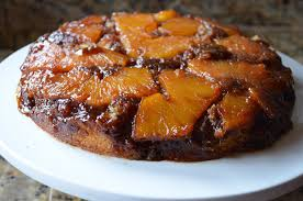fresh pineapple upside down cake from scratch serena bakes