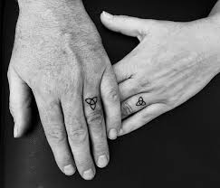 wedding ring tattoos ideas ring finger tattoo for couples 2018