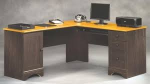 Sauder Traditional L Shaped Desk Sauder Harbor View Antiqued Paint Corner Computer Desk At Menards