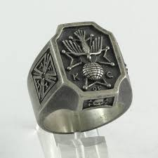 urban skeleton ring holder images Buy a hand crafted skull cross knights of columbos ring memento jpg