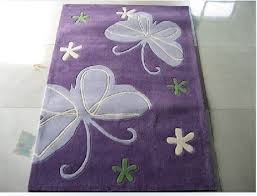 Purple Rugs For Bedroom Cute Purple Area Rugs Cartoon Butterfly Kids Bedroom Rug China