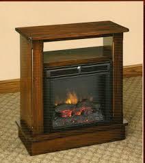 Amish Electric Fireplace Oak Tree Furniture Amish Furniture Quality Amish Made