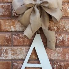 Door Monogram Decoration Best Wedding Wreaths For Front Doors Products On Wanelo