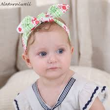 baby headwraps aliexpress buy naturalwell newborn baby printing knot
