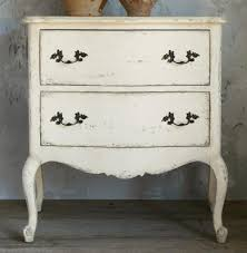 French Country Nightstand - clementine french country old creme 2 drawer nightstand end table