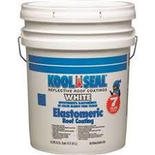 kool seal white elastomeric roof coating walmart com