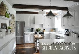 how to paint cabinets with benjamin advance how we painted our kitchen cabinets two approaches for two