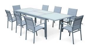 Ikea Salon De Jardin En Resine Tressee by Table Aluminium De Jardin Table Jardin Acier Maisondours