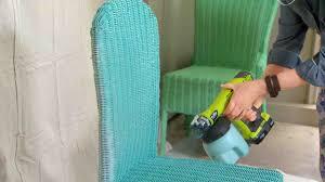 video how to spray paint wicker chairs martha stewart
