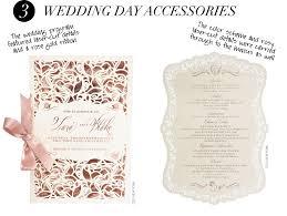 laser cut wedding programs 3 wedding day accessories the wedding program featured laser
