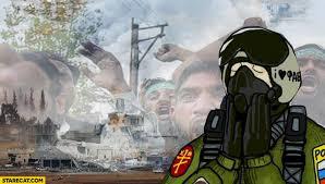Syria Meme - russian jet pilot in syria meme starecat com