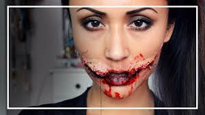 the chelsea smile halloween makeup tutorial shelingbeauty youtube
