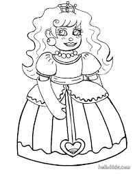 doll princess coloring pages hellokids com