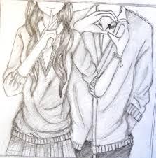 beautiful pencil drawings of cute love couples drawing of sketch