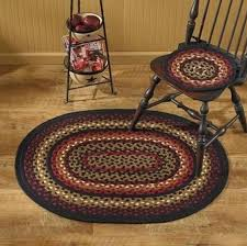 braided rug park designs folk oval braided rug 32 x 42