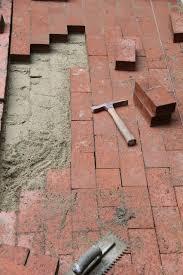 red brick paving walkways in los angeles handyman prices