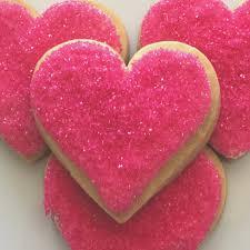 heart shaped cookies pink heart shaped cookies 16 cookies 2 5 big superlove cookies
