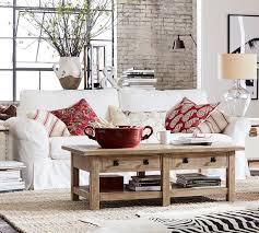 Slipcover Furniture Living Room Pb Comfort Roll Arm Slipcovered Sofa Pottery Barn