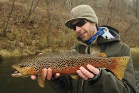brown streamers fly fishing with streamers fly fisherman