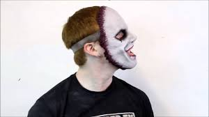 shattered fx smile flesh face silicone half mask youtube